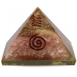 Piramide Orgonite in Quarzo...