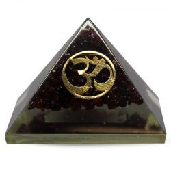 Piramide Orgonite - Granato...