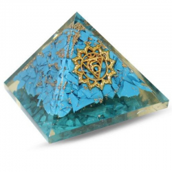 Piramide Orgonite Turchese...
