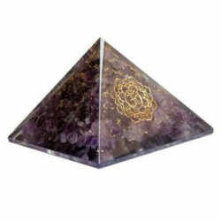 Piramide Orgonite Ametista...