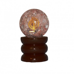 Quarzo Rosa Sfera Orgonite...