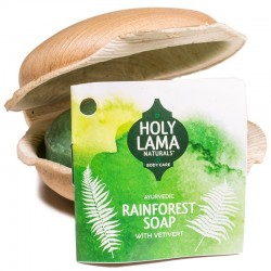 Sapone fatto a mano Vetiver, Rainforest - 100gr. Holy Lama Naturals