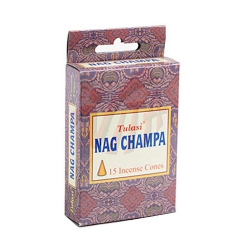 Tulasi - Coni Incenso Premium Nag Champa Masala