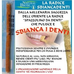 Natural Brush - Radice di salvadora persiva sbiancadenti