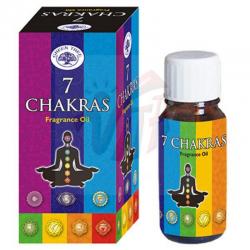 Seven Chakras Olio...